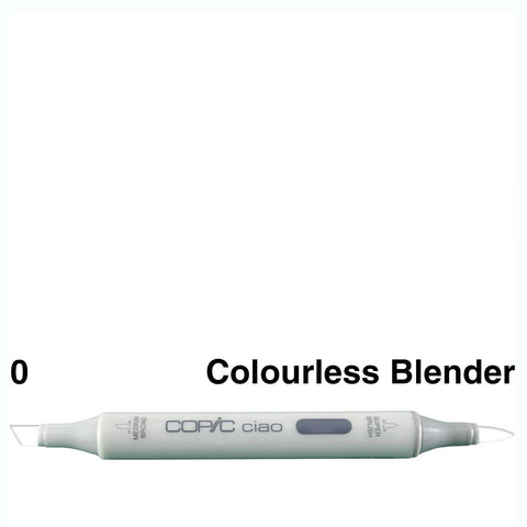Copic Ciao Marker - 0 - Colourless Blender
