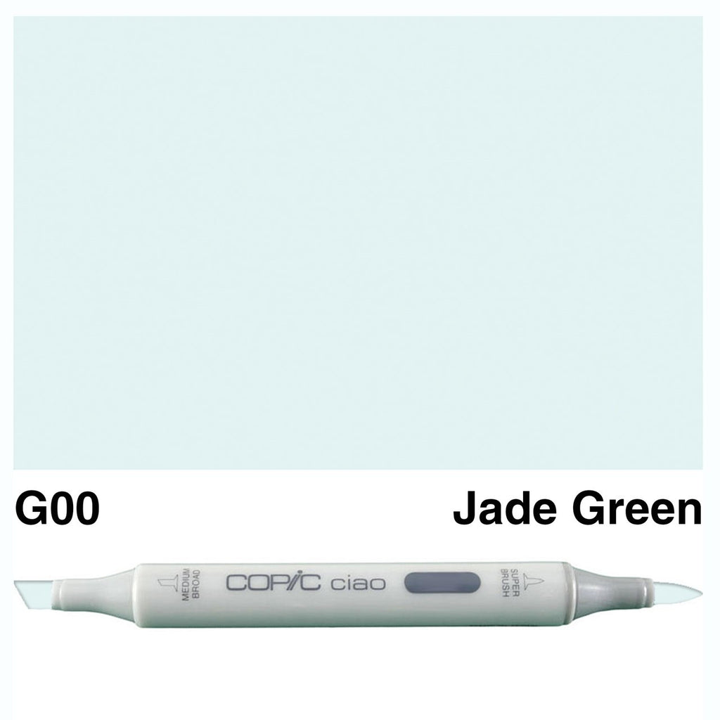 Copic Ciao Marker Pen - G00 - Jade Green