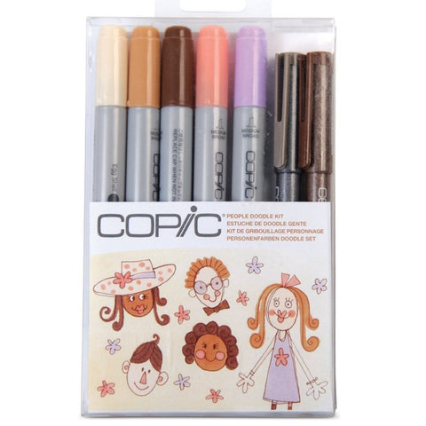 Copic - Ciao Doodle Kit - People 7pcs