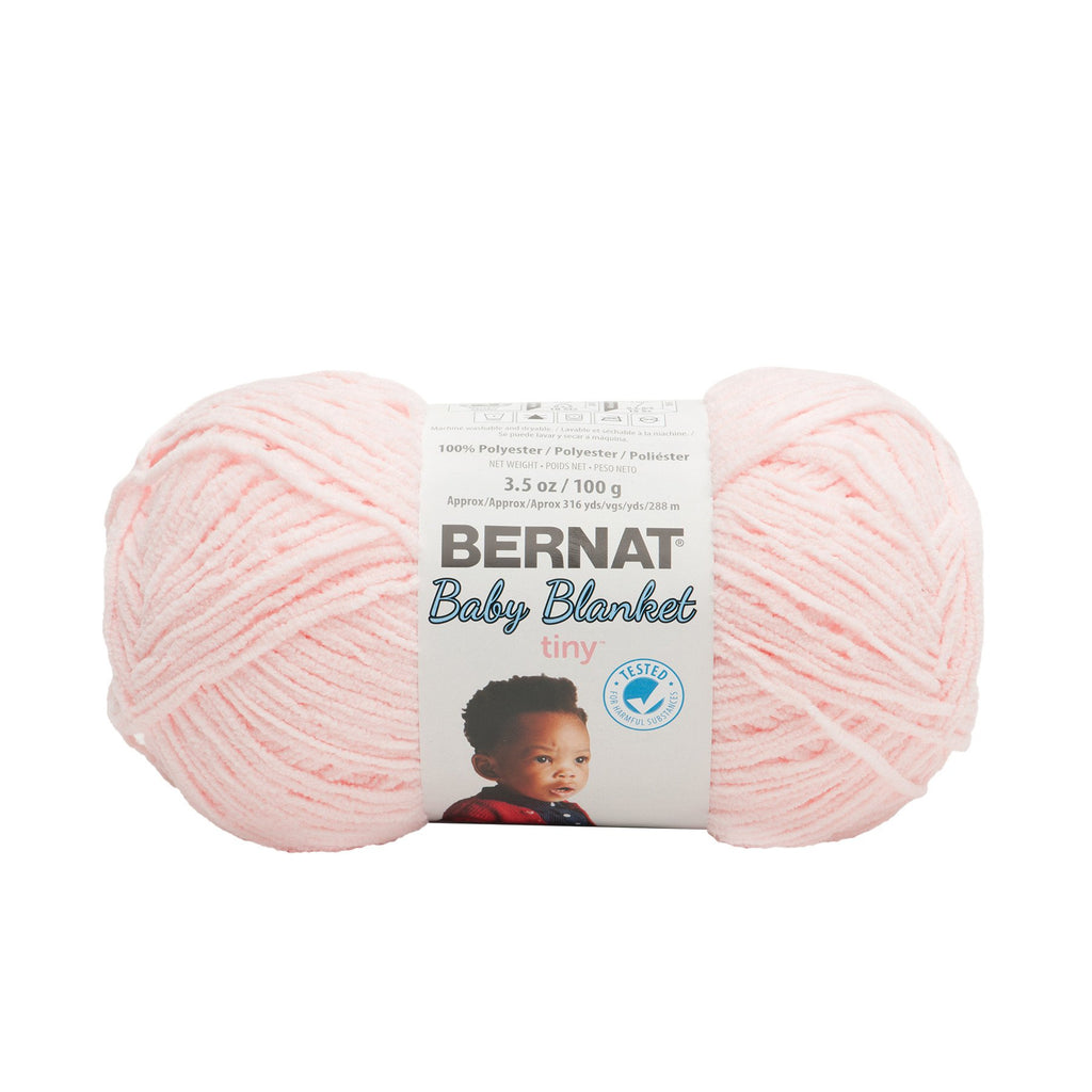 Bernat Baby Blanket Tiny Yarn 3.5oz/100g - Hush Pink