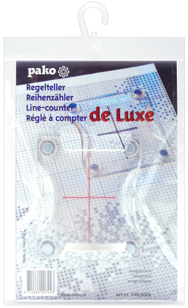 Pako Magnetic Line Counter 3.375 inch X4 inch