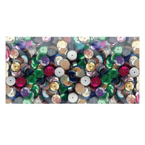 Darice - Cupped Sequins 5mm 800 pack - Multi