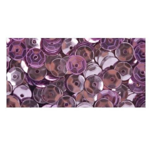 Darice - Cupped Sequins 5mm 800 Pk - Pink