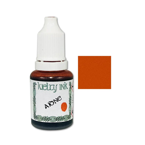 Kielty Inks - Alcohol Ink 15ml - Aidne (Orange-Red)