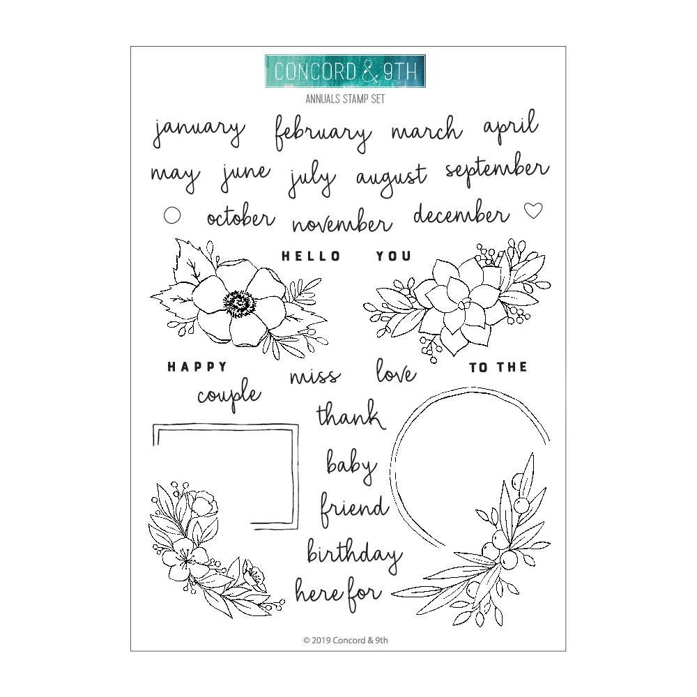 Prima Marketing - Julie Nutting Cling Rubber Stamps 4x6 inch - Merry Nice
