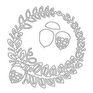 Memory Box - Poppystamps - Grendon Wreath
