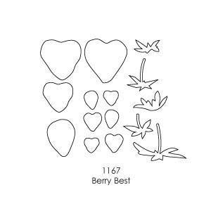 Memory Box - Poppystamps - Berry Best