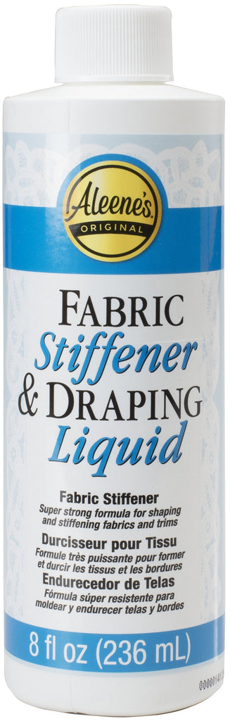 Aleene's Fabric Stiffener & Draping Liquid 8oz