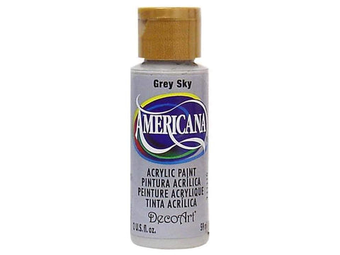Deco Art Americana Acrylic Paint 2oz Grey Sky - Opaque