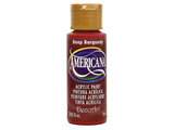 Americana Acrylic Paint 2oz - Deep Burgundy - Opaque
