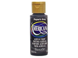 Americana Acrylic Paint 2oz - Paynes Grey - Opaque