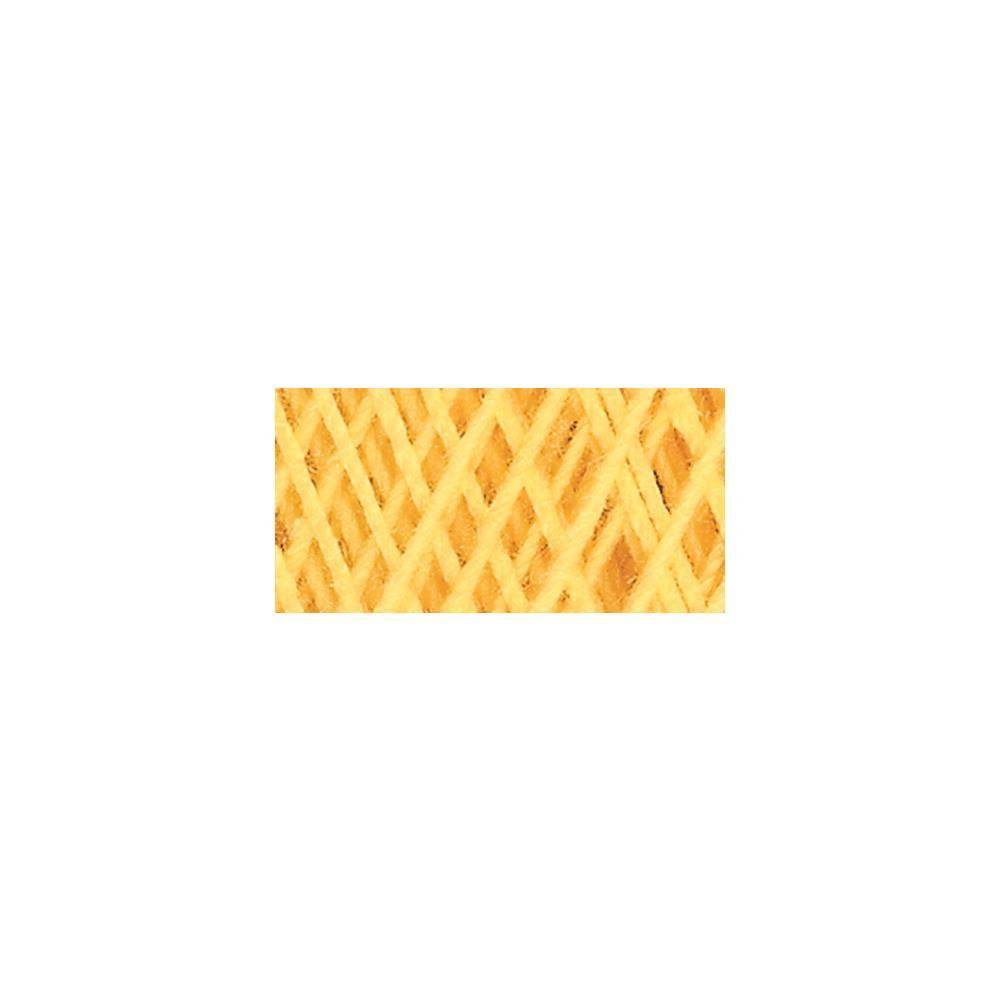 Aunt Lydias Classic Crochet Thread Size 10 - Golden Yellow