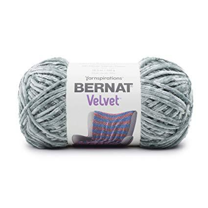 Bernat - Velvet Yarn - Smokey Green - 300g