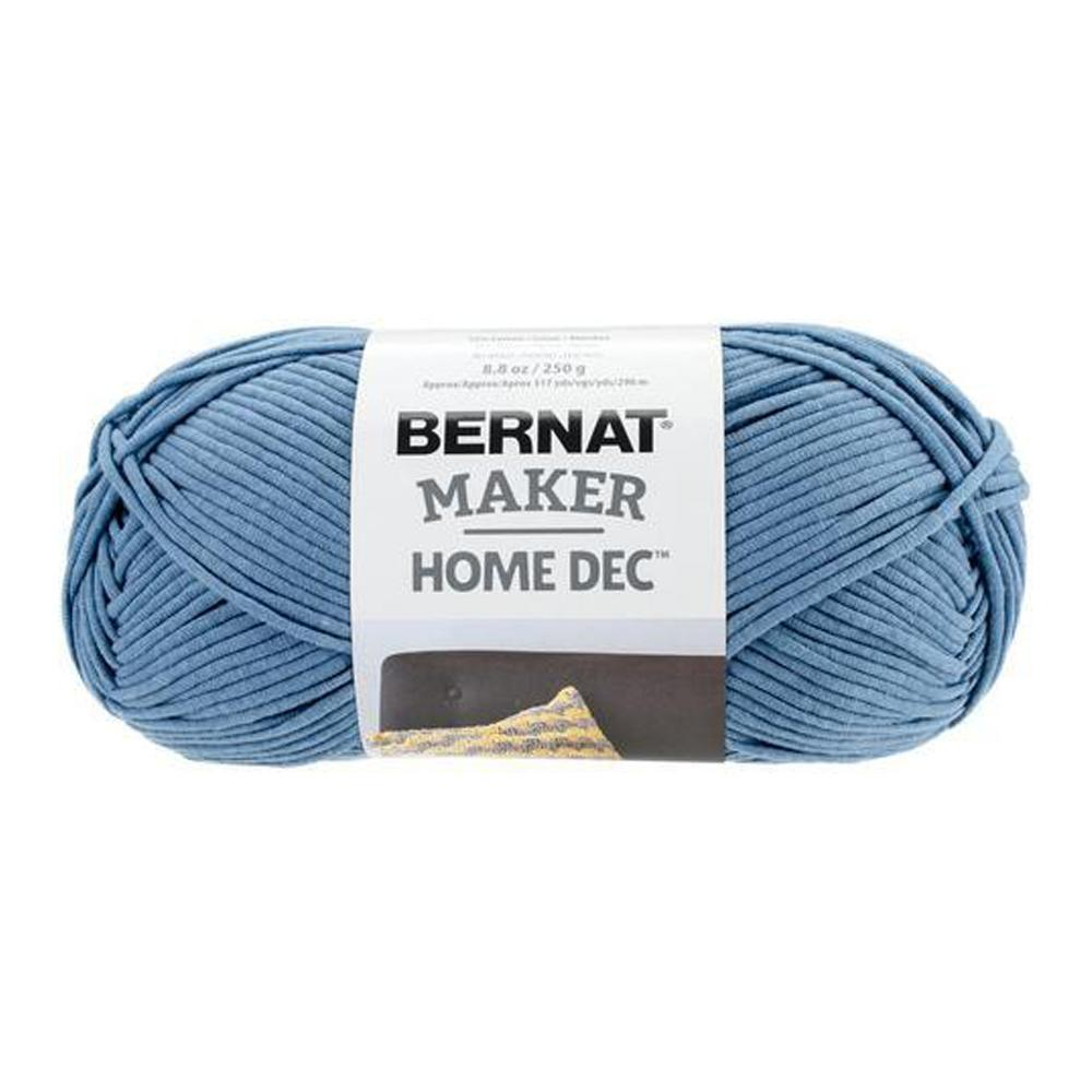 Bernat Maker Home Dec Yarn - Steel Blue