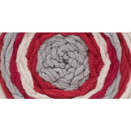 Bernat Blanket Stripes Yarn Red Alert