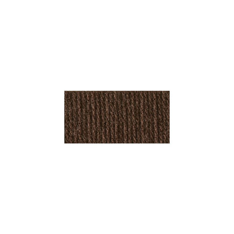 Bernat Super Value Solid Yarn - Chocolate - 7oz (197g) 426yd