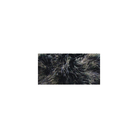 Bernat Faux Fur Pompom 1 pack - Black Mink