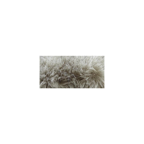 Bernat Faux Fur Pompom 1 pack - Grey Linx
