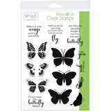 Thermoweb Gina K Designs Clear Stamps - Butterfly Kisses