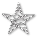 Poppystamps Die - Wrapped Star