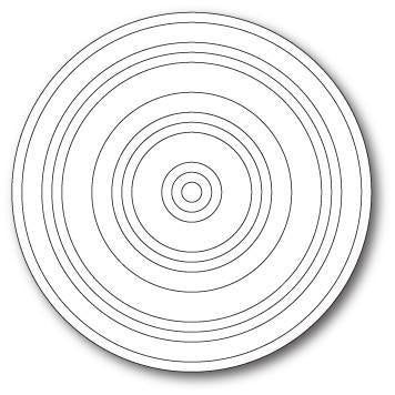 Poppystamps Die - Concentric Rings