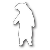 Poppystamps Die - Friendly Polar Bear