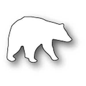 Poppystamps Die - Small Polar Bear