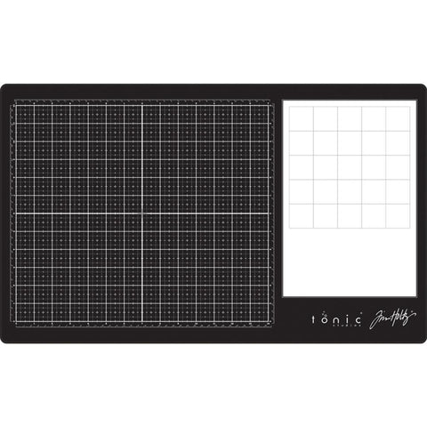 Tim Holtz - Glass Media Mat 23.75 x 14.25 inch