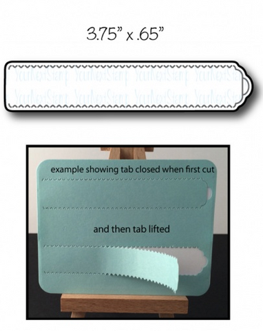 Your Next Stamp Die - Tear Away Tab - Medium