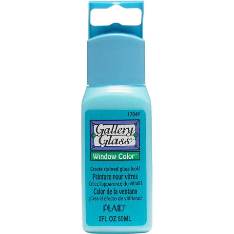 Gallery Glass Window Colour 2oz - Aqua