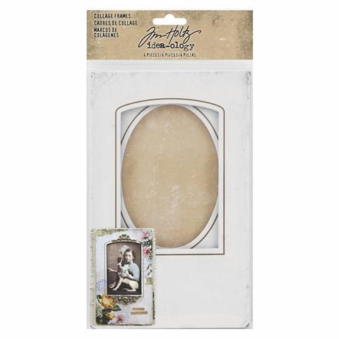 Tim Holtz - Idea-Ology Bookboard Collage Frames 4 pack