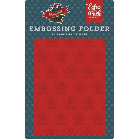 Echo Park Embossing Folder A2 - Buccaneer
