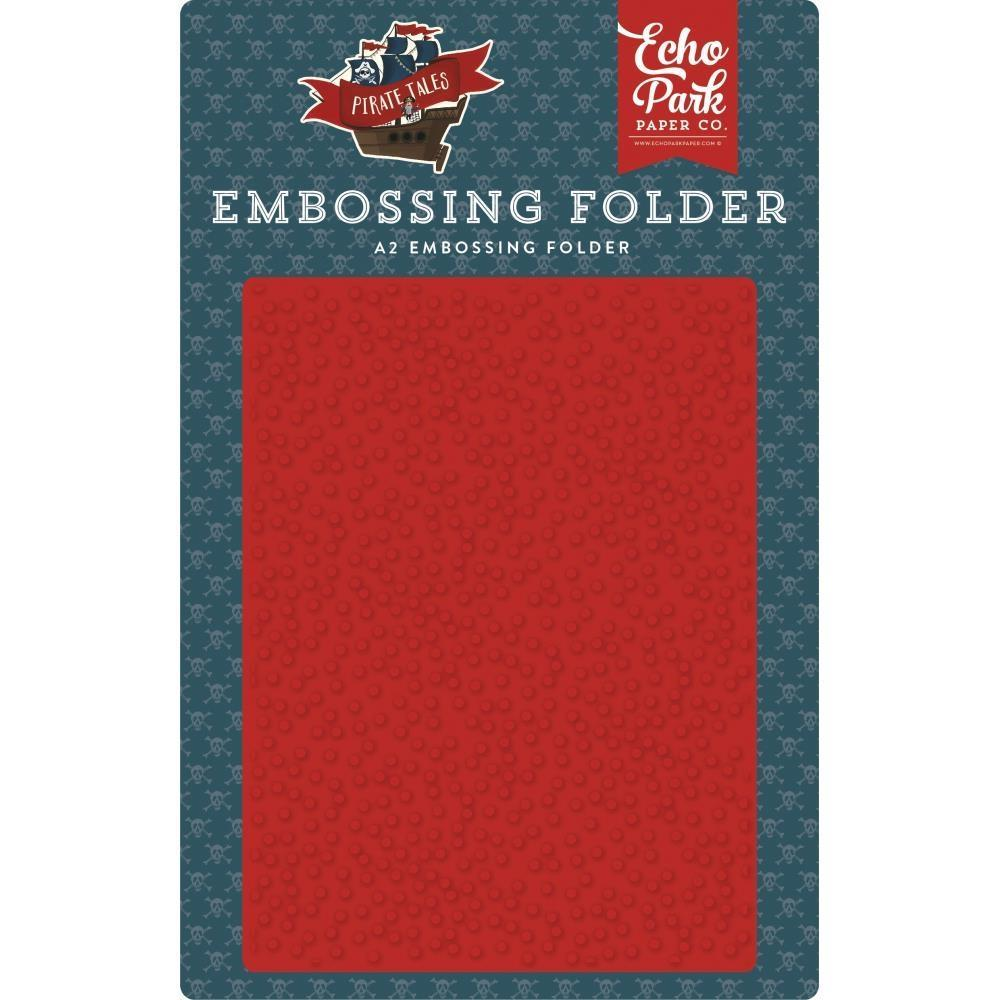 Echo Park Embossing Folder A2 - Pirate Spots