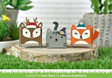 Lawn Cuts - Custom Craft Die - Tiny Gift Box Holiday Hats Add-On
