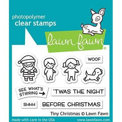 Lawn Fawn - Clear Stamps 3 inch X2 inch - Tiny Christmas