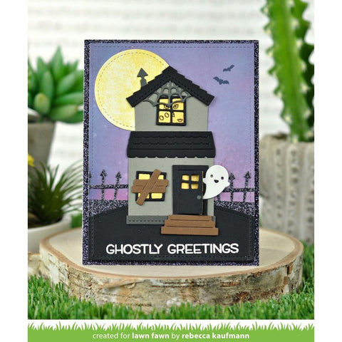 Lawn Cuts - Custom Craft Die - Build-A-House Halloween Add-On