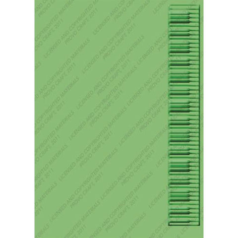 Cuttlebug 5inch X7inch Embossing Folder Keyboard