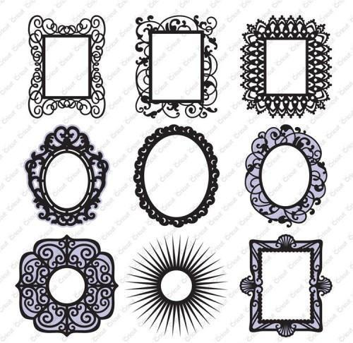 Cricut Cartridge Fancy Frames