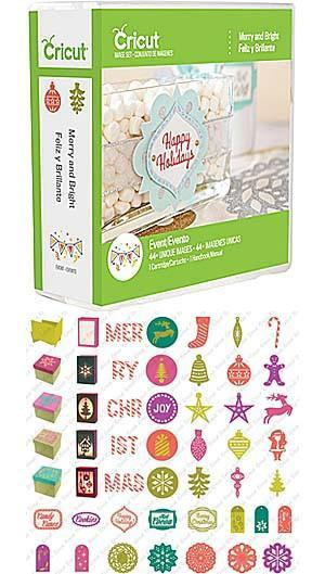 Cricut Shape Cartridge Merry & Bright