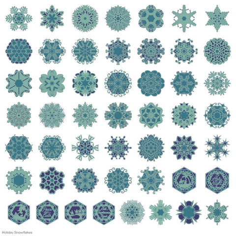 Cricut Cartridge Holiday Snowflakes