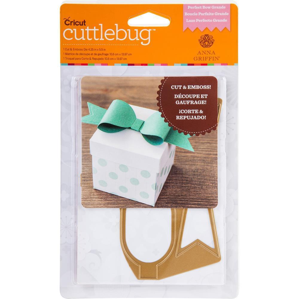 Cuttlebug A2 Cut & Emboss Die By Anna Griffin Perfect Bow Grande