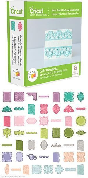 Cricut Shape Cartridge Annas Flourish Cards & Embellishments