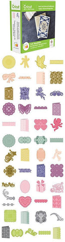 Cricut Shape Cartridge Anna Griffin Lace Cards & Embellishments