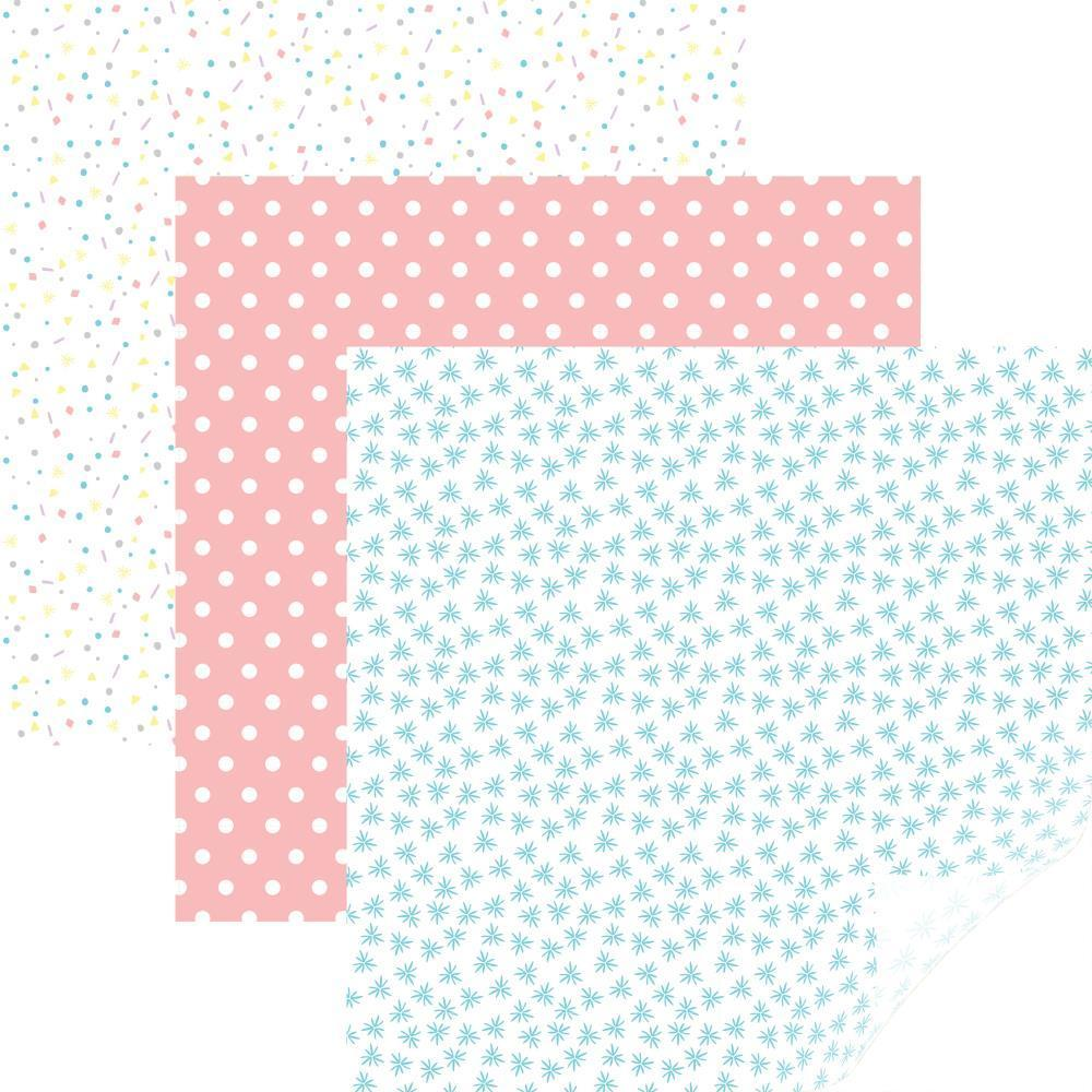Cricut 12x12 inch Patterned Premium Vinyl Sampler 6 pack - Party Time Pastels
