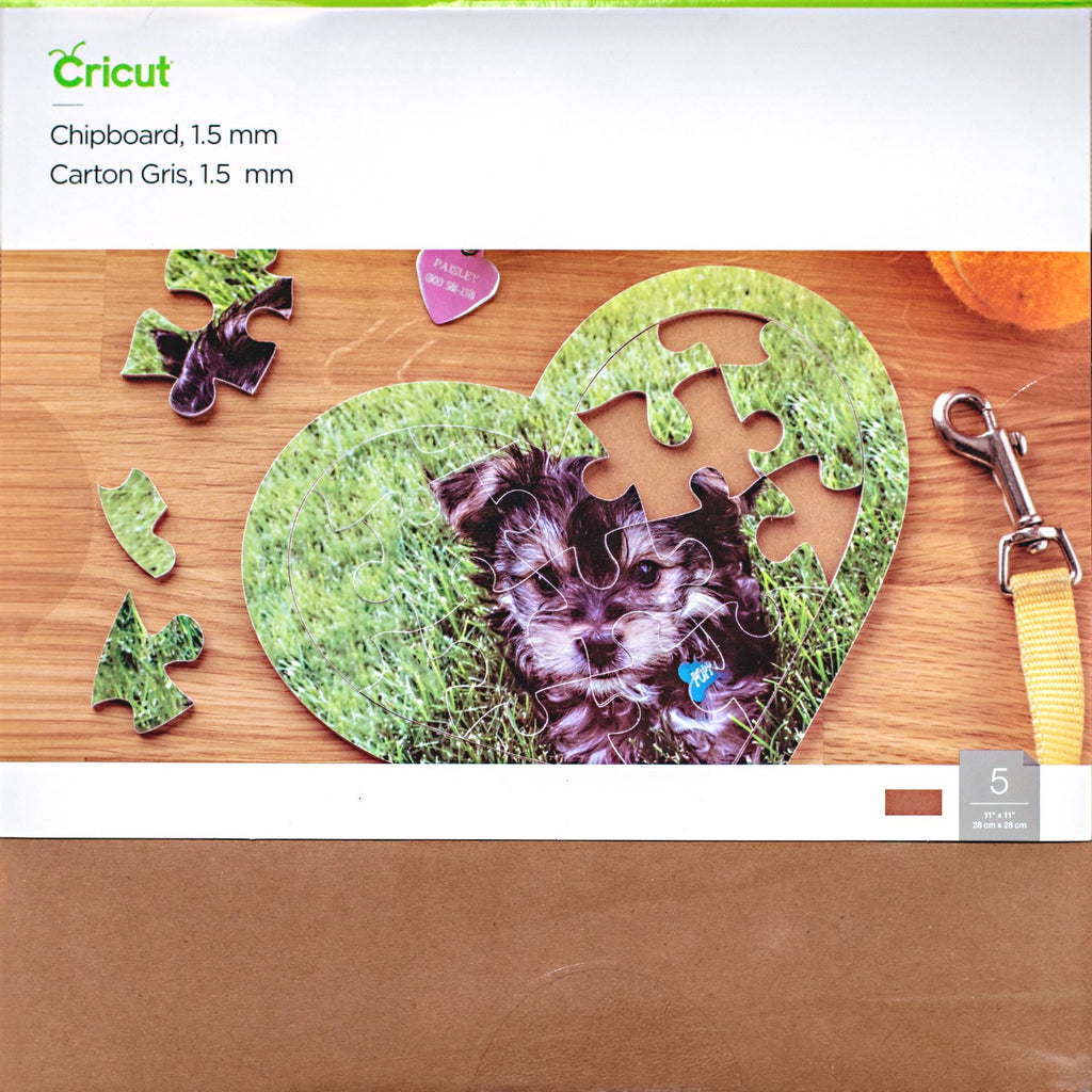 Cricut - Heavy Chipboard Sampler - 1.5 mm