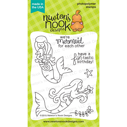 Newtons Nook Design Stamps - Mermaid Crossing