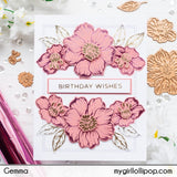Spellbinders Glimmer Plates Geometric Floral Layered