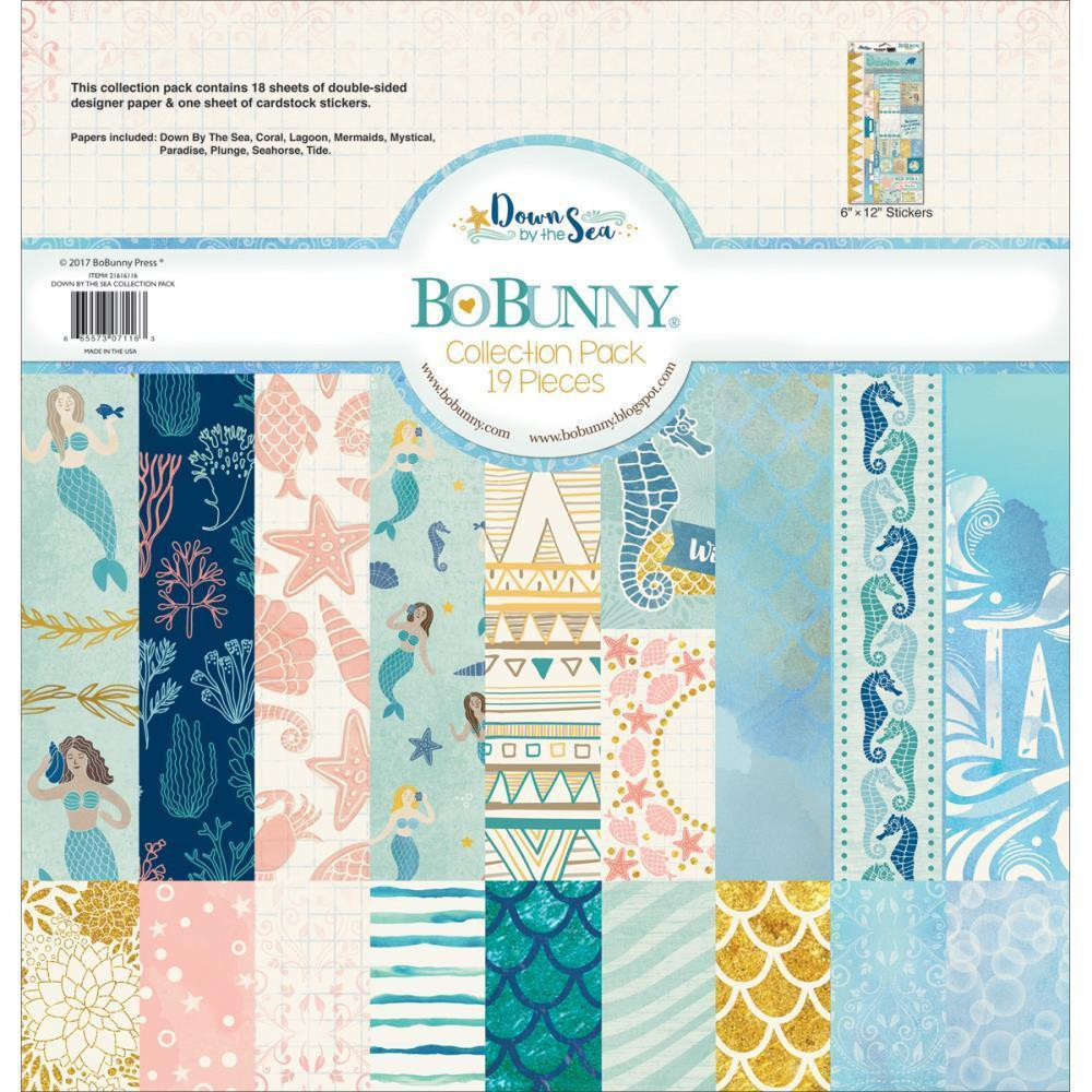 Bo Bunny Collection Pack 12x12 inch - Down By The Sea