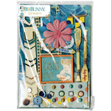 Bo Bunny Ephemera Embellishments - Down By The Sea