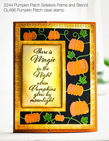 Poppystamps - Clear Stamp Set - Pumpkin Patch